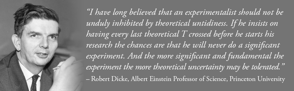 Quote Robert Dicke