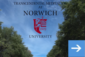 Transcendental Meditation at Norwich University