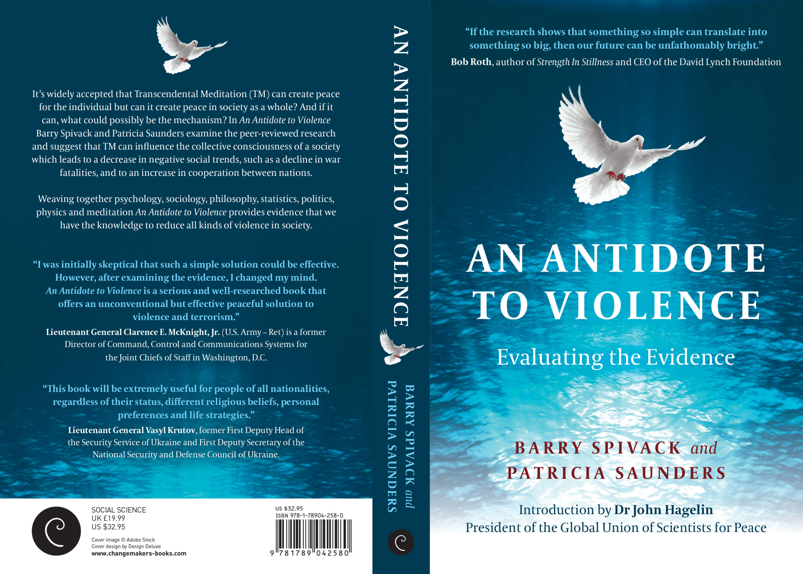 An Antidote to Violence - Front and Back